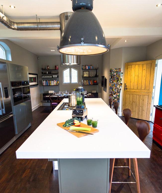 Chic Industrial Kitchen Interior Design Reigate thumbnail