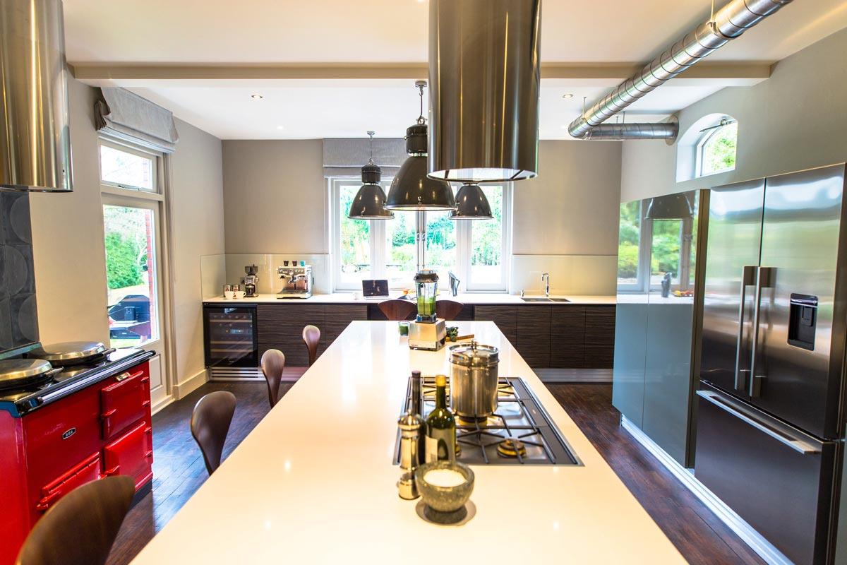 Industrial Kitchen Design Reigate