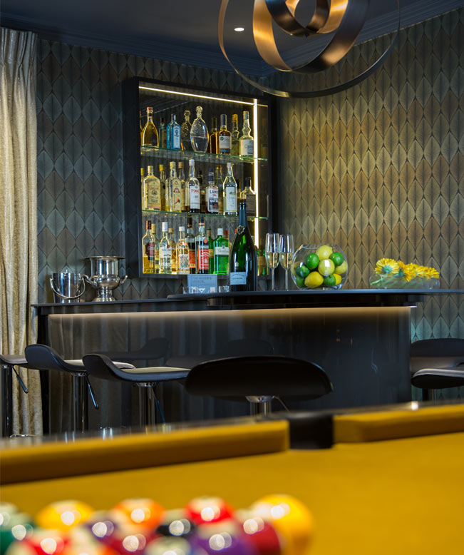 Party Room & Bar Interior Design Oxted thumbnail